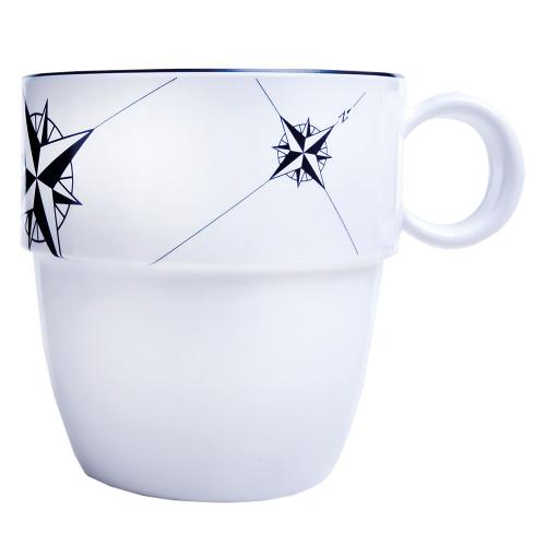 Marine Business Melamine Non-Slip Coffee Mug - NORTHWIND - Set of 6 [15004C]