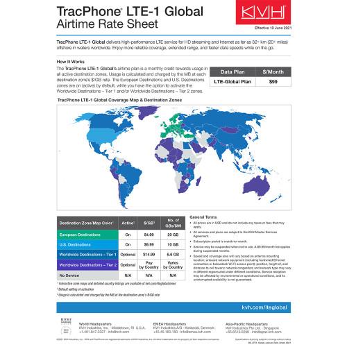 KVH TracPhone LTE-1 Global [01-0419-01]
