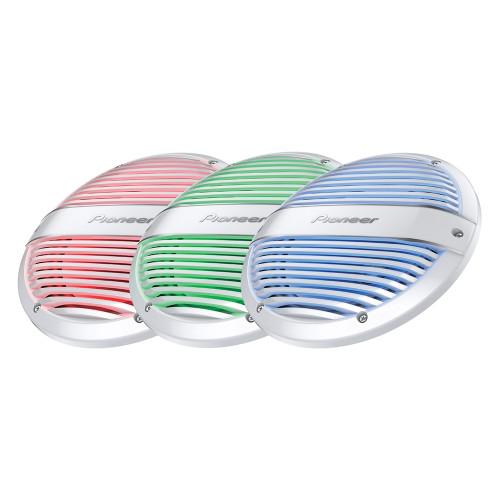 """Pioneer RGB LED Light Kit f\/ 10"""" Subwoofers [UD-ME100LED]"""