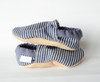 Denim Stripe Bison Booties 18-24 months