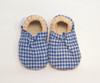 Linton Flannel Bison Booties 0-6 months