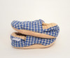 Linton Flannel Bison Booties 6-12 months