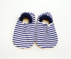 Nautical Bison Booties 12-18 months