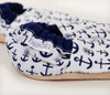 Ahoy Anchor Bison Booties 6-12 months
