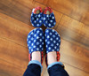 Americana Bison Booties 0-6 months