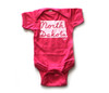 Pink North Dakota Baby Bodysuit