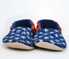 Americana Bison Booties Slippers