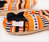 Candy Corn Bison Booties 12-18 months