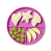 Light Pink + Purple 2 Pack Silicone Plates Chewbeads CB Eat