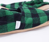 Evergreen Bison Booties Slippers