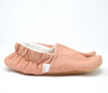 Blush Bison Booties Slippers