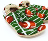 Touchdown Football Bison Booties 12-18 months