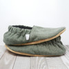 Conifer Flannel Bison Booties Child Slippers