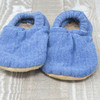 Flurry Flannel Bison Booties 12-18 months