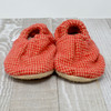 Yellowstone Flannel Bison Booties 12-18 months