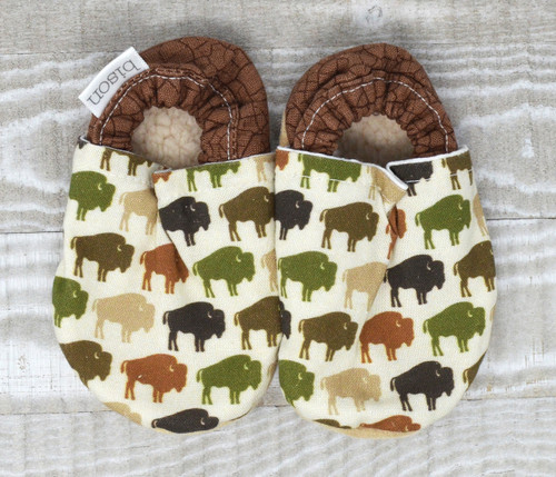 Bison Herd Bison Booties 6-12 months