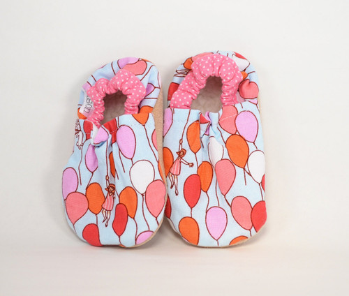 Daydream Balloons Bison Booties 0-6 months