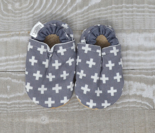 Swiss Cross Bison Booties 18-24 months