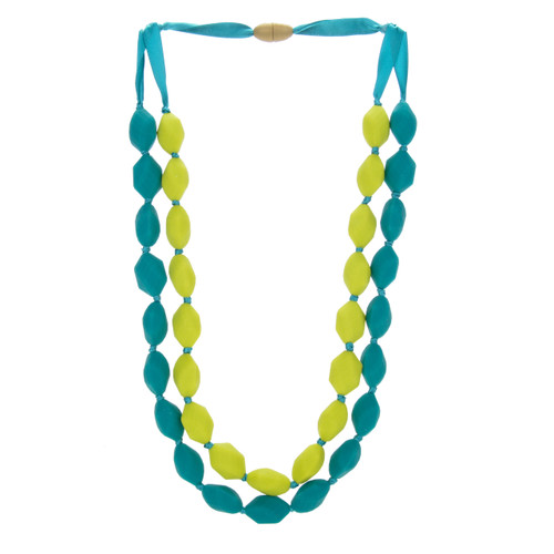 Astor Chartreuse Chewbeads Necklace
