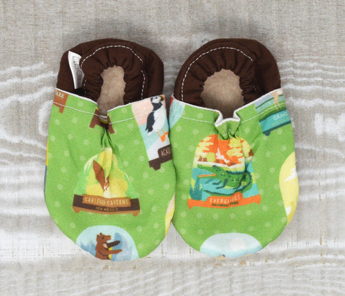 National Park Bison Booties 18-24 months