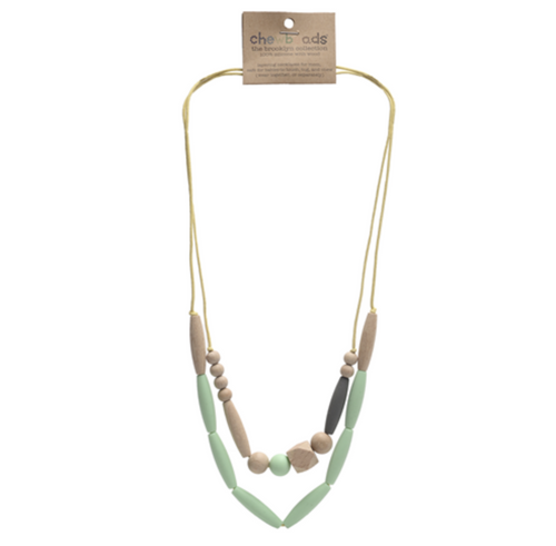 Mint Metropolitan Chewbeads Necklace