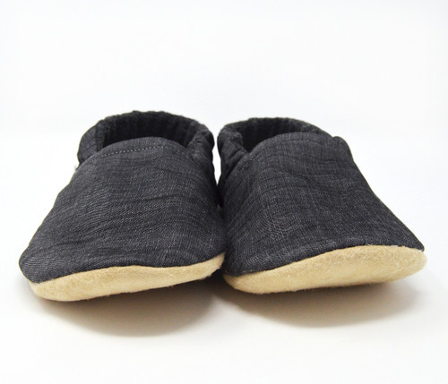 Slate Bison Booties Child Slippers