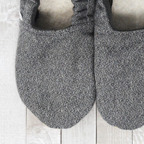 Teton Flannel Bison Booties Child Slippers