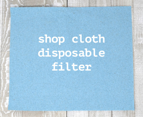 Shop Cloth Disposable Filter