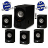 Acoustic Audio AA5171 Home Theater 5.1 Bluetooth Speaker System with FM Tuner