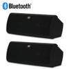 AA40CB Bluetooth Indoor Black Powered Speakers Bookshelf