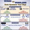 """B63GR Fully Wireless 400 Watt Rechargeable Battery 6.5"""" Bluetooth Rock 4 Speaker Set Slate Grey"""