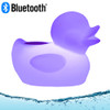 Acoustic Audio Rechargeable Bluetooth Floating Duck Pool Speaker IP66 Rated with Multi-Colored LED Light