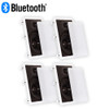 """Theater Solutions CS8W Bluetooth 2-Way In Wall 8"""" Powered 4 Speaker Set Flush Mount"""