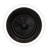 """Theater Solutions TSS8A Bluetooth 8"""" Angled In Ceiling Powered Speaker Pair Flush Mount"""