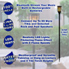 TT100 Fully Wireless Rechargeable Battery Bluetooth Tiki Speaker 4 Pack Lanterns