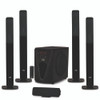 "Acoustic Audio Bluetooth Tower 5.1 Home Speaker System with 8"" Powered Subwoofer"