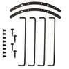 "Goldwood Sound BAR-10B Steel Black Bar Tube Grill for 10"" Speaker Woofer"
