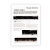 TS4DLS Dual Input 4 Zone Speaker Selector Box Volume Controls