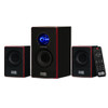 Acoustic Audio AA2103 Bluetooth Home 2.1 Speaker System for Multimedia Computer Gaming