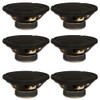 """6 Goldwood Sound GW-208/8 OEM 8"""" Woofers 200 Watts each 8ohm Replacement Speakers"""