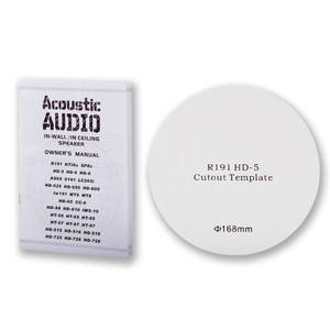 R191 Flush Mount In Ceiling Speakers Home Theater 2 Pair
