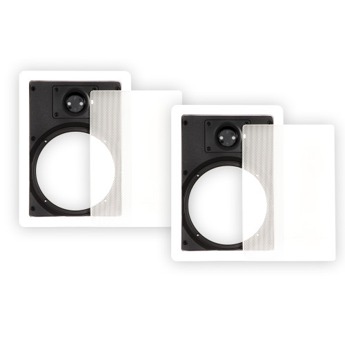 65WFG Frames and Grills for 6.5 Inch In Wall Speakers Pair