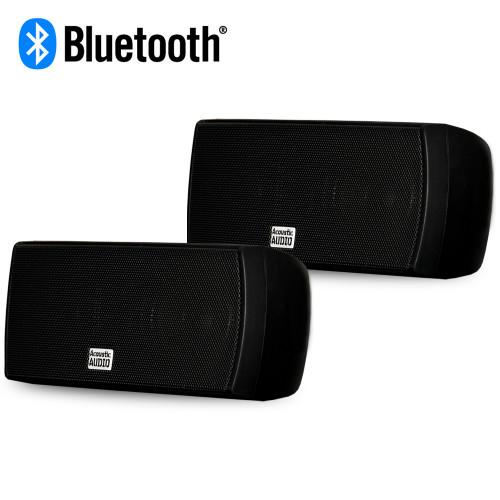 AA32CB Bluetooth Mountable Indoor Powered Speakers Bookshelf