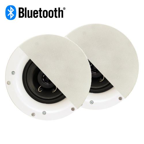 R192 Bluetooth Frameless In Ceiling Speaker Pair 2-Way Home