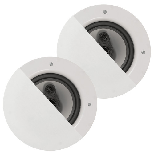 """CSic64 Frameless In Ceiling Speakers with 6.5"""" Woofers 1 Pair"""