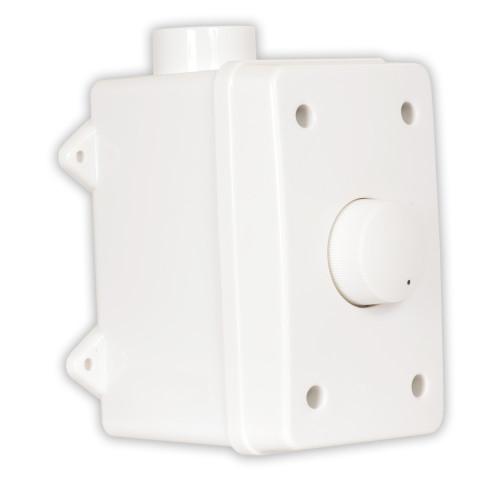OVCDW Outdoor Speaker Volume Control White Weatherproof Dial