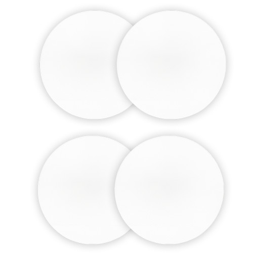 8CG Replacement 8 Inch In Ceiling Speaker Grills 2 Pair Pack