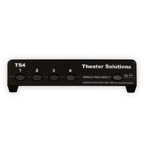 TS4 Home 4 Zone Speaker Selector Box with Impedance Protection