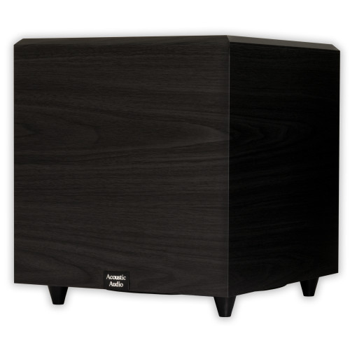 """PSW-12 Home Theater Powered 12"""" Subwoofer 500 Watts Surround Sound Sub"""