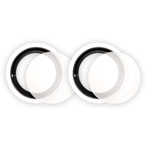 8CFG Frames and Grills for 8 Inch In Ceiling Speakers Pair